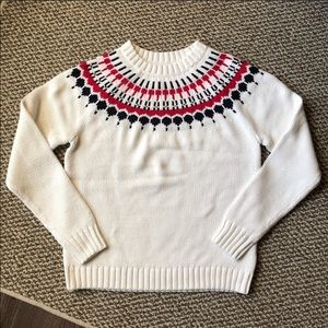 J.crew Fair Isle Sweater / XS